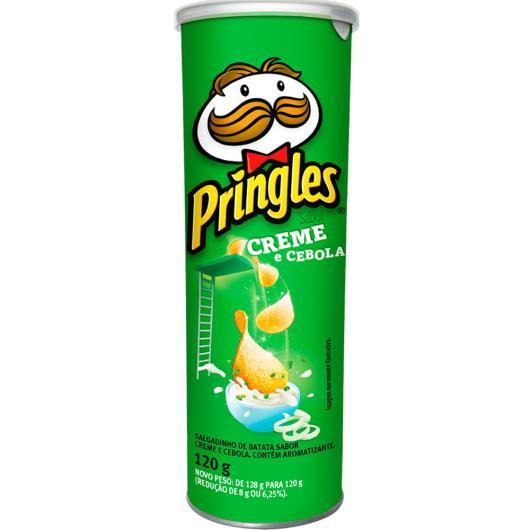 Batata creme e cebola Pringles 120g - Imagem em destaque