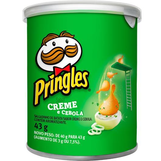 Batata creme e cebola Pringles 43g - Imagem em destaque
