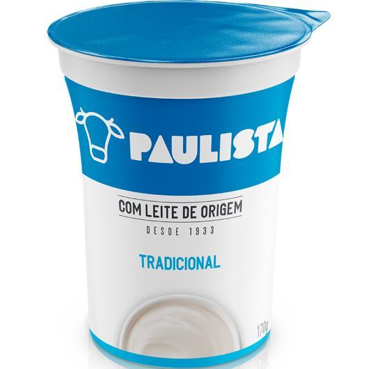 Bebida láctea tradicional Paulista 170g - Imagem em destaque