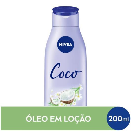 Loção deo-hidratante coco Nivea 200ml - Imagem em destaque