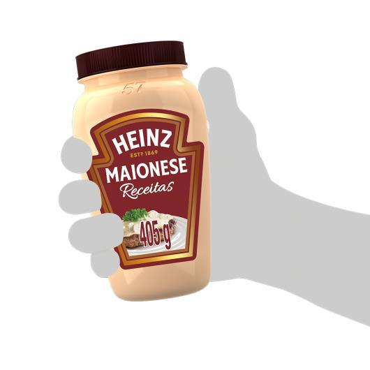 MAIONESE HEINZ RECEITAS 405g - Imagem em destaque