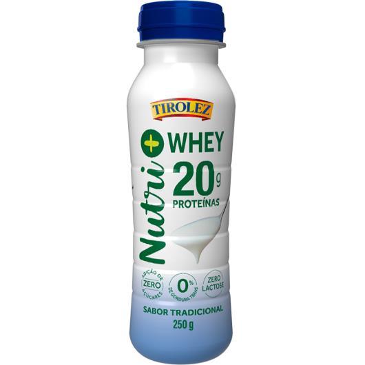Iogurte tradicional Nutri+ Whey Tirolez 250g - Imagem em destaque