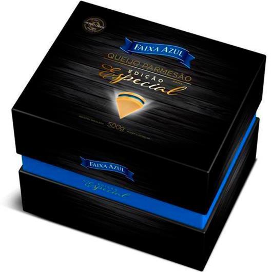 Queijo parmesão Faixa Azul Edição Especial 500g - Imagem em destaque