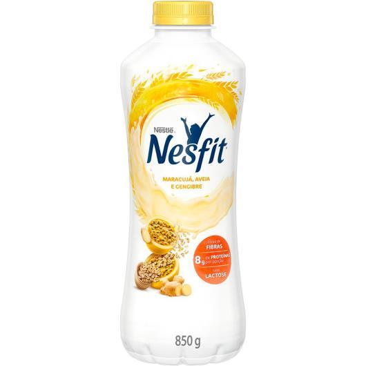 Iogurte maracujá, aveia e gengibre Nesfit 850g - Imagem em destaque