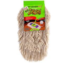 Mop Bettanin Zig Zag lustrador algodão refil unidade