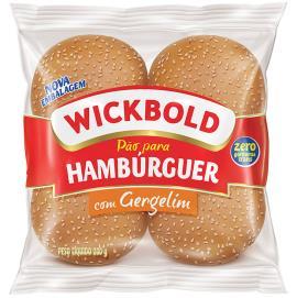 Pão de hambúrguer com Gergelim Wickbold 200g