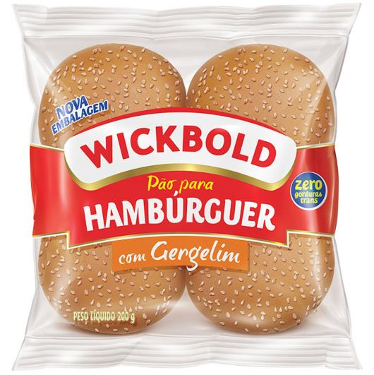 Pão de hambúrguer com Gergelim Wickbold 200g - Imagem em destaque