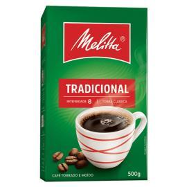 Café Melitta Tradicional à Vácuo 500g