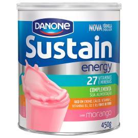 Pó para prepero de bebida Sustain sabor morango 450g