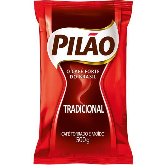 Café Pilão Tradicional 500g - Imagem em destaque