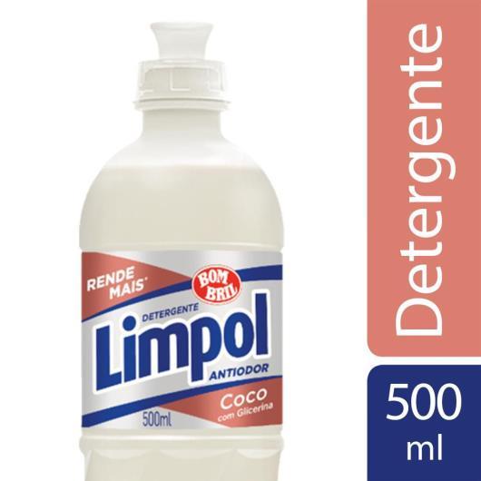 Detergente líquido Limpol coco 500ml - Imagem em destaque