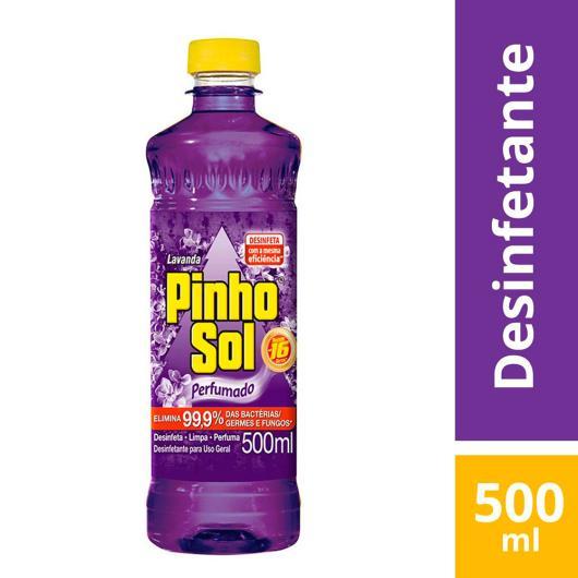 Desinfetante Pinho Sol lavanda 500ml - Imagem em destaque