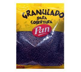 Confeito granulado Pan chocolate 80g