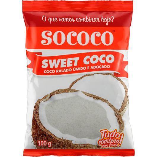 Coco ralado sweet Sococo 100g - Imagem em destaque