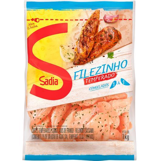 Filezinho Sadia de peito de frango temperado 1kg - Imagem em destaque