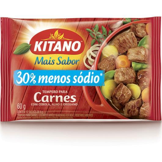 Tempero Kitano mais sabor carne, legumes e arroz 60g - Imagem em destaque