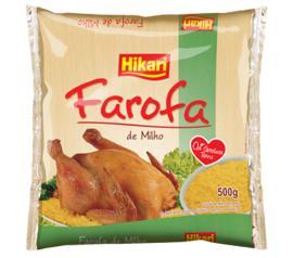 Farofa de milho amarelo Hikari 500g