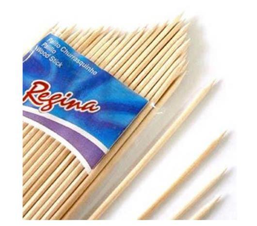 Palito Regina de bambu para churrasco - Imagem em destaque