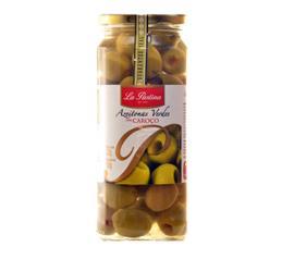 Azeitona La Pastina verde especial sem caroço 150g