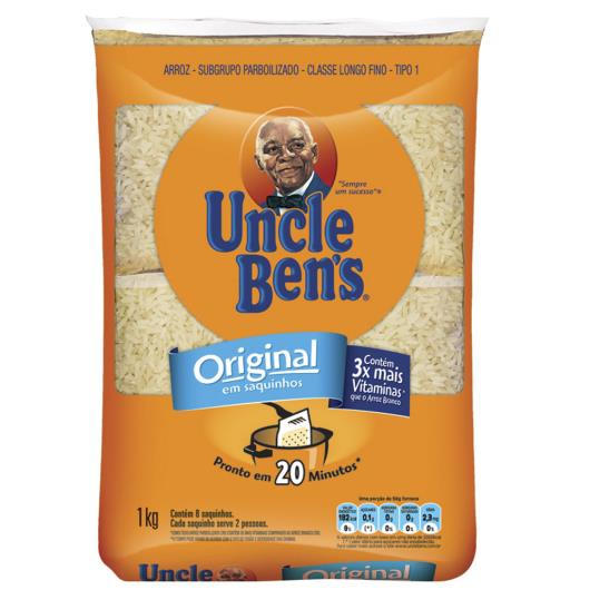 Arroz tipo 1 Uncle Ben's saquinho 1kg - Imagem em destaque