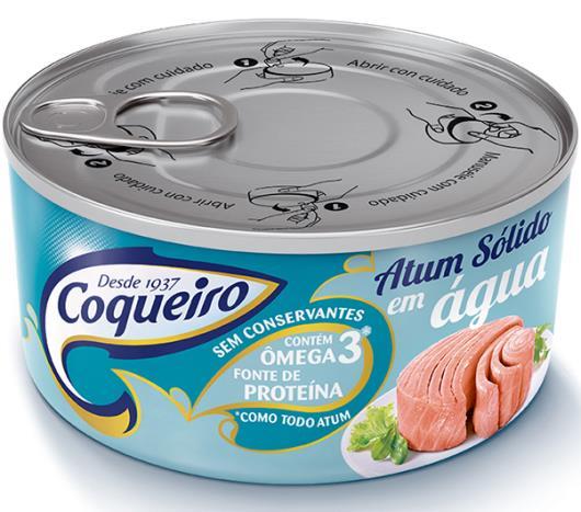 Atum Coqueiro sólido natural 170g - Imagem em destaque