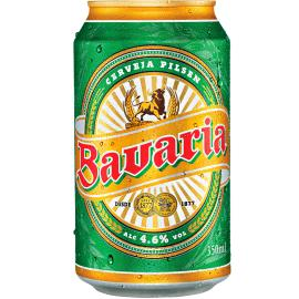 Cerveja lata Bavaria 350ml