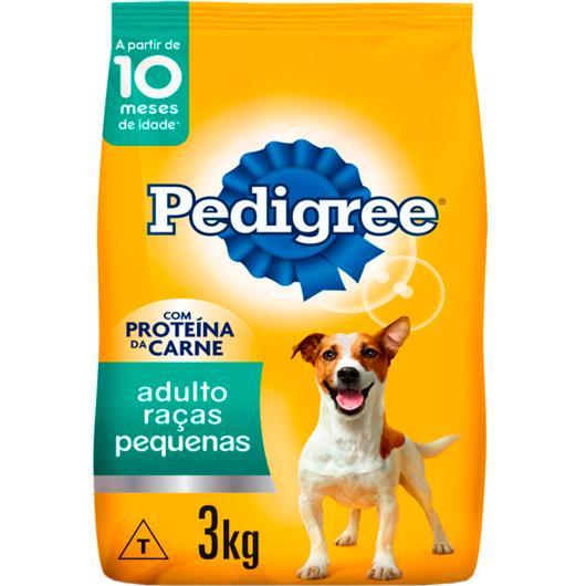 Ração Pedigree para raças pequenas 3kg - Imagem em destaque