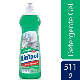 Detergente em gel Limpol aloe vera 511g