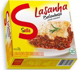 Lasanha Sadia Bolonhesa Mini 350g