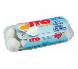 Ovos Ito saúde branco com 10 unidades