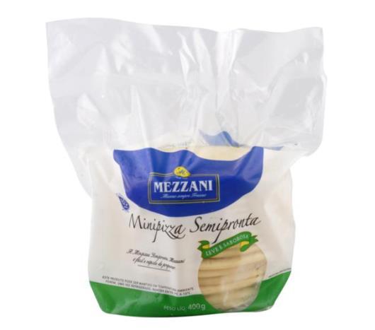 Mini pizza semi-pronta Mezzani 400g - Imagem em destaque
