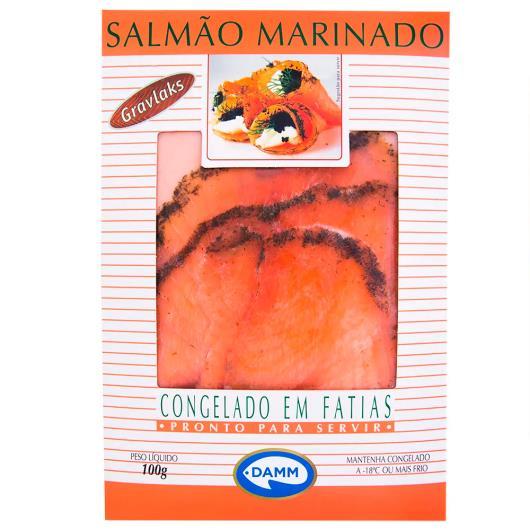 Peixe Damm  gravlaks salmão caixa 100g - Imagem em destaque