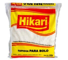 Tapioca Hikari para bolo 500g