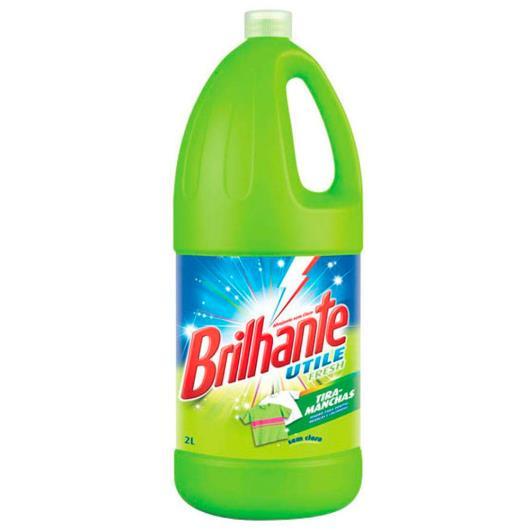 Alvejante Brilhante sem cloro utile fresh 2L - Imagem em destaque
