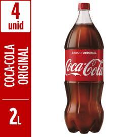 Refrigerante Coca Cola  pet 2L Leve + Pague - com 4 unidades
