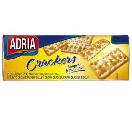 Biscoito Adria crackers original 200g