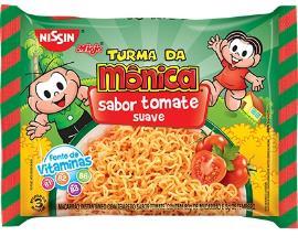 Macarrão Instantâneo Nissin Turma da Monica Tomate Suave 85g