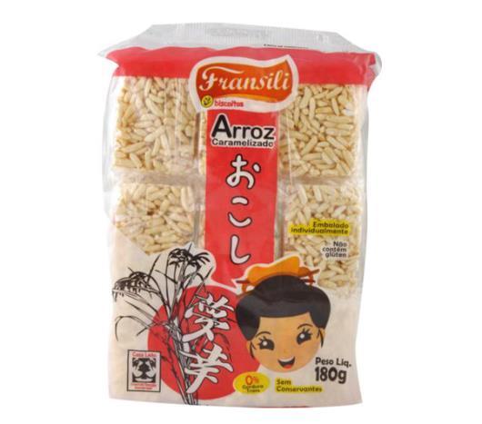 Doce de arroz Fransili Caramelizado 180g - Imagem em destaque