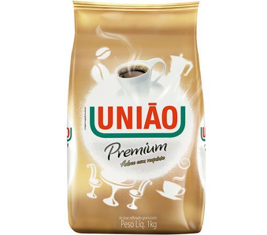 Açúcar União refinado granulado premium 1kg - Imagem em destaque