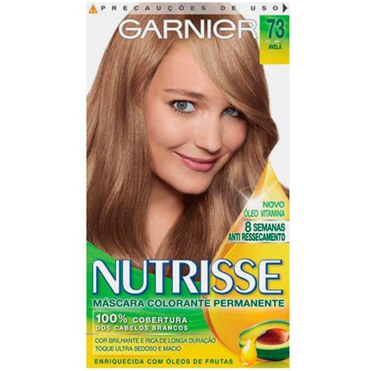 Tintura Garnier Nutrisse 73 avelã - Imagem em destaque