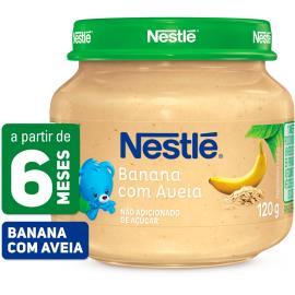 PAPINHA Nestlé Banana com Aveia Pote 120g