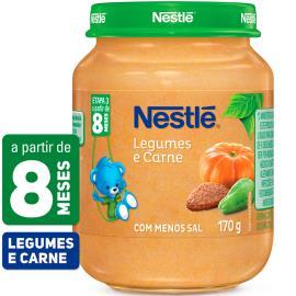 PAPINHA Nestlé Legumes e Carne Pote 170g