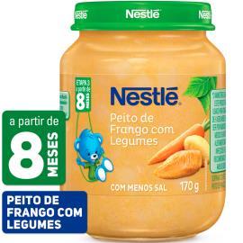 PAPINHA Nestlé Peito de Frango com Legumes Pote 170g