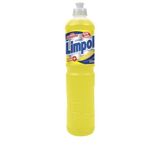 Detergente líquido Limpol neutro 500ml - Imagem em destaque