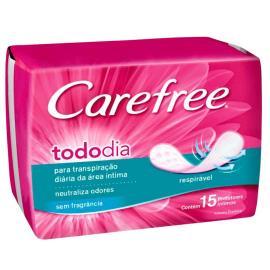 Protetor diário Carefree brisa 1 a 1 15 unidades