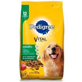 Alimento para cães Pedigree carne & vegetais adulto 10,1kg