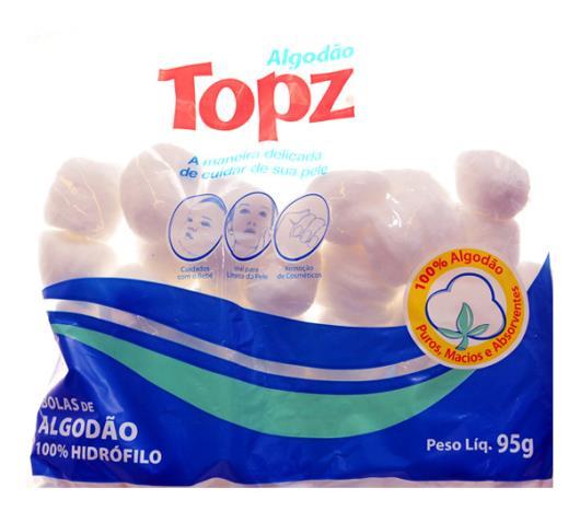 Algodão Topz bola 95g - Imagem em destaque