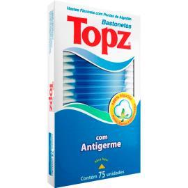 Hastes Flexíveis Topz com 75 unidades