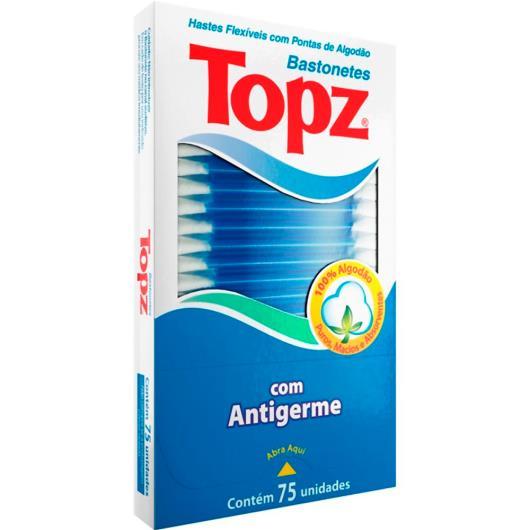 Hastes Flexíveis Topz com 75 unidades - Imagem em destaque