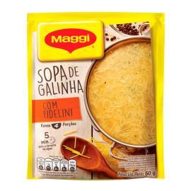 MAGGI Sopa de Galinha com Fidelini Sachê 60g